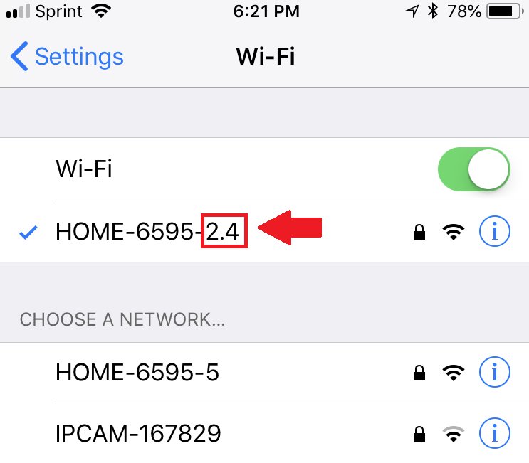 How To Connect Your Mobile Device To A 2 4GHz Network – Zencam